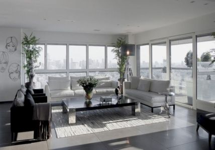 Stunning gray and white living room decor ideas 14
