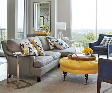 Stunning gray and white living room decor ideas 15