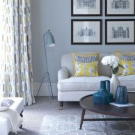 Stunning gray and white living room decor ideas 22