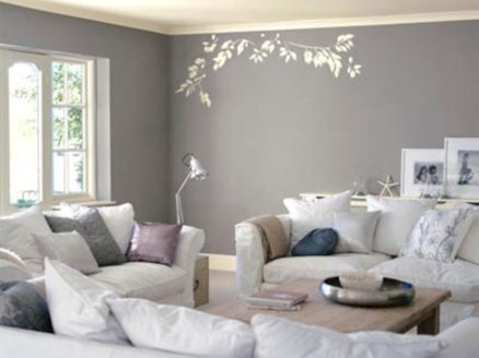 Stunning gray and white living room decor ideas 24