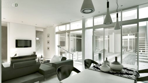 Stunning gray and white living room decor ideas 30