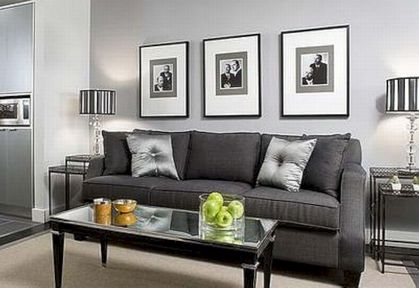 Stunning gray and white living room decor ideas 53