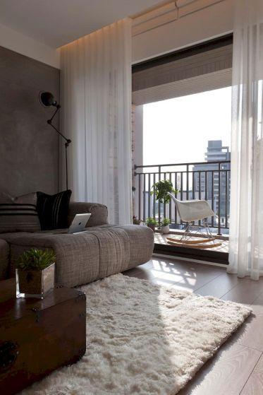 Stunning gray and white living room decor ideas 67