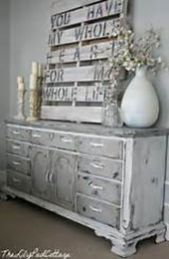 Stunning grey chalk paint furniture 01