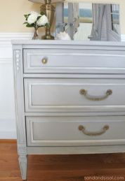 Stunning grey chalk paint furniture 04