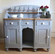 Stunning grey chalk paint furniture 08