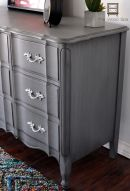 Stunning grey chalk paint furniture 13
