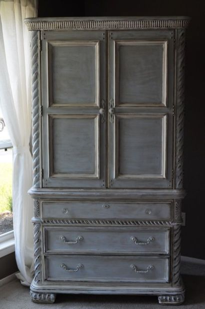 Stunning grey chalk paint furniture 43