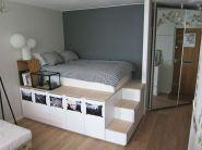 Stunning small apartment bedroom ideas 19