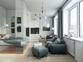Stunning small apartment bedroom ideas 26