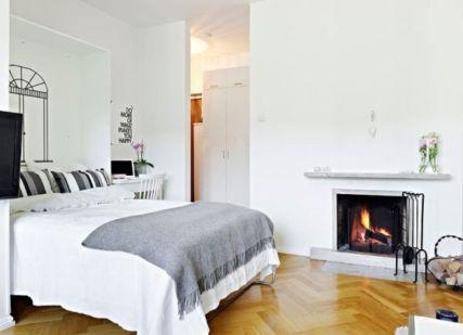 Stunning small apartment bedroom ideas 33