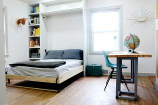 Stunning small apartment bedroom ideas 60