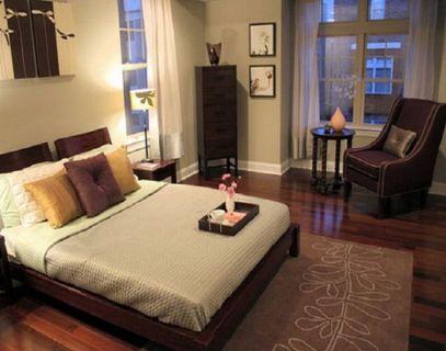 Stunning small apartment bedroom ideas 69