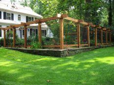 Stunning vegetable garden fence ideas (10)