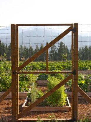 Stunning vegetable garden fence ideas (22)