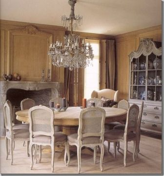 Stylish painted dining room table 31