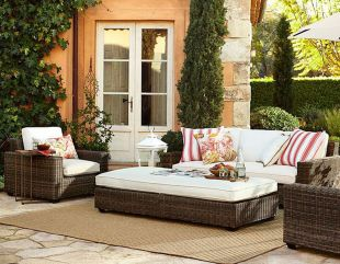 Stylish small patio furniture ideas 24