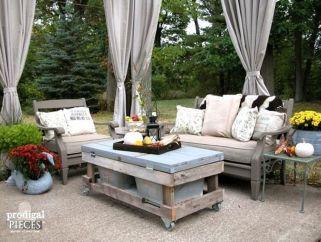 Stylish small patio furniture ideas 25
