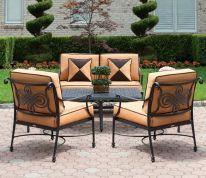 Stylish small patio furniture ideas 37
