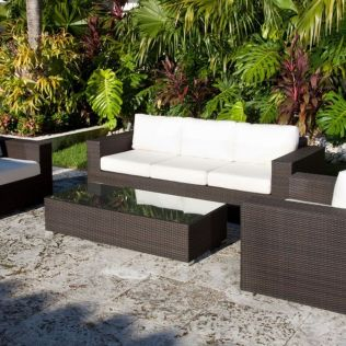 Stylish small patio furniture ideas 43