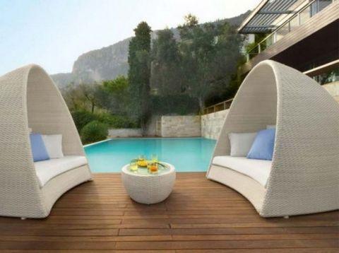 Stylish small patio furniture ideas 54