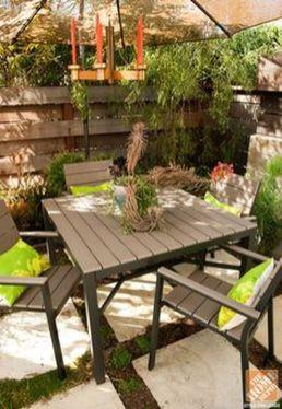 Stylish small patio furniture ideas 60