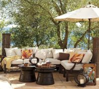 Stylish small patio furniture ideas 65