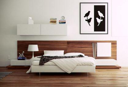 Stylish wooden flooring designs bedroom ideas 07