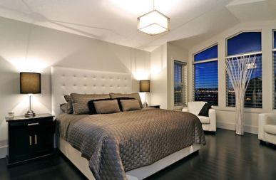 Stylish wooden flooring designs bedroom ideas 31