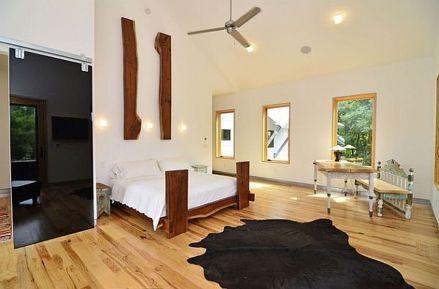 Stylish wooden flooring designs bedroom ideas 40