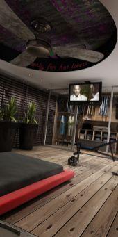Stylish wooden flooring designs bedroom ideas 60