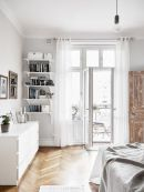 Stylish wooden flooring designs bedroom ideas 86