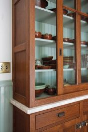 Wood and glass kitchen cabinets 03