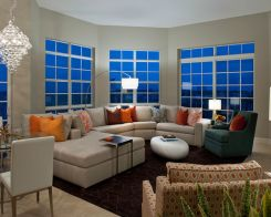 Adorable burnt orange and teal living room ideas 33