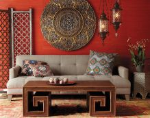 Adorable burnt orange and teal living room ideas 48