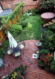 Adorable small patio garden design ideas 07