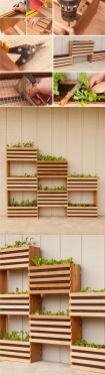 Affordable backyard vegetable garden designs ideas 22