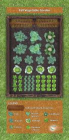 Affordable backyard vegetable garden designs ideas 43