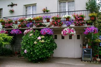 Amazing small balcony garden design ideas 07