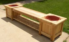 Amazing wooden garden planters ideas you should try 01