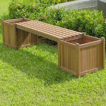 Amazing wooden garden planters ideas you should try 06