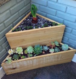 Amazing wooden garden planters ideas you should try 11