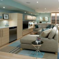 57 Small Basement Apartment Decorating Ideas