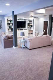 Basement apartment decorating 55
