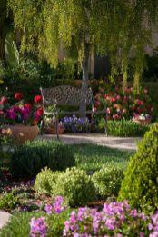 Beautiful flower garden decor ideas everybody will love 50