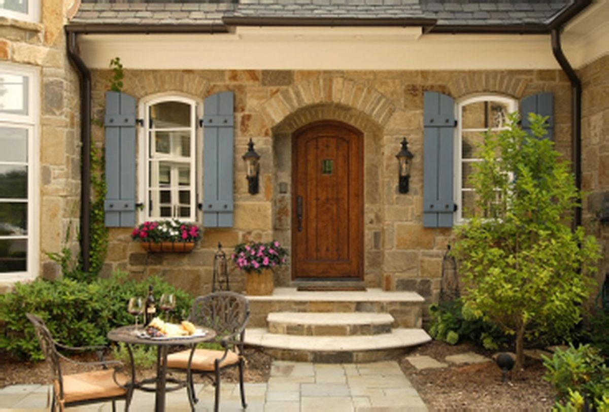 Beautiful french cottage garden design ideas 30