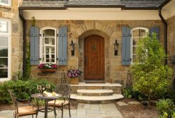 Beautiful french cottage garden design ideas 30