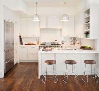 Beautiful hampton style kitchen designs ideas 05