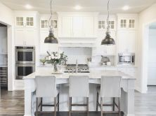 Beautiful hampton style kitchen designs ideas 09