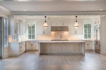 Beautiful hampton style kitchen designs ideas 10